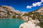 Big Pine Lake #3, John Muir Wilderness, Sierra Nevada Mountains, California USA