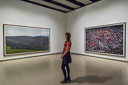 Les Mees and Chicago Board of Trade III - Andreas Gursky a new exhibiition. The Hayward Gallery reopens on the Southbank after a major refurbishment.