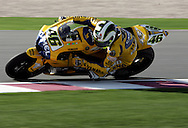 Italian Valentino Rossi wins the Commercial Bank Grand Prix of Qatar, MOTO GP class, Losail International Circuit, 8 April 2006
