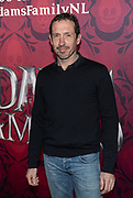 2019, December 01. Pathe ArenA, Amsterdam, the Netherlands. Jacob Derwig at the dutch premiere of The Addams Family.