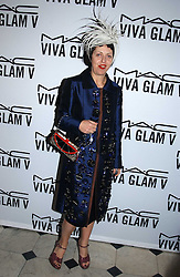 ISABELLA BLOW at a party to celebrate Pamela Anderson's new role as spokesperson and newest face of the MAC Aids Fund's Viva Glam V Campaign held at Home House, Portman Square, London on 21st April 2005.<br />