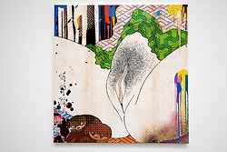 © licensed to London News Pictures. LOCATION:Gagosian.Gallery, 6-24 Britannia Street, London Postcode WC1X 9JD..27_06_11.Exhibition of recent work by renowned Japanese  artist Takashi Murakami. ..Pictured:6..Shunga: Bow Wow, 2010... Please see special instructions for usage rates. Photo credit should read: Tim Roberts/LNP