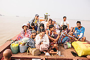 Baot to  Bilu Island. Shan State, Myanmar