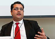 Mitesh Lakhani, CEO, Reliable Group moderates panel at New York Enterprise Report International CEO Roundtable on February 17, 2011 at HSBC in New York.