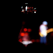 """July 20, 2016 - New York, NY : An audiencemember records a cell phone video of blues guitarist George """"Buddy"""" Guy performing at The Theater at Madison Square Garden on Wednesday evening. CREDIT: Karsten Moran for The New York Times"""