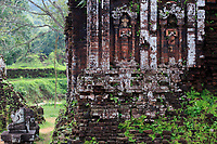 The ancient Hindu temple complex of My Son in the jungles of Qang Nam Province, Vietnam