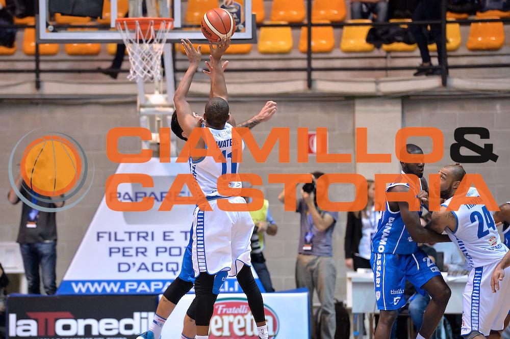 Dominic Waters<br /> Red October Cantu' vs Banco di Sardegna Sassari<br /> Basket Serie A 2016/2017<br /> Milano 23/10/2016<br /> Foto Ciamillo-Castoria