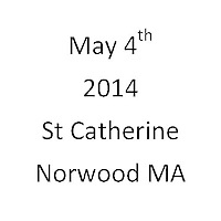 St Catherine Norwood MA First Communion May 4, 2014