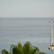 Sailboats in Cabo San Lucas bay. Cabo San Lucas,BCS.Mexico.