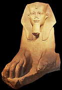 Great Sphinx, found at Tanis, Egypt. Granite