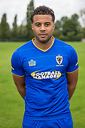 Tom Soares during the AFC Wimbledon Photocall 2017 at the Kings Sports Ground, New Malden, United Kingdom on 1 August 2017. Photo by Shane Healey.