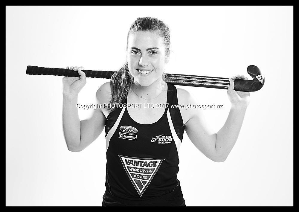 Rose Keddell, New Zealand Black Sticks women, national hockey team photoshoot. Photosport Studio, Auckland. August 2017, Copyright Image: Andrew Cornaga / www.photosport.nz