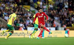 Marlon Pack of Bristol City passes the ball - Mandatory by-line: Robbie Stephenson/JMP - 16/08/2016 - FOOTBALL - Carrow Road - Norwich, England - Norwich City v Bristol City - Sky Bet Championship