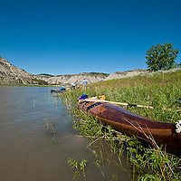 kayaking umrbnm, upper missouri river breaks national monument, montana