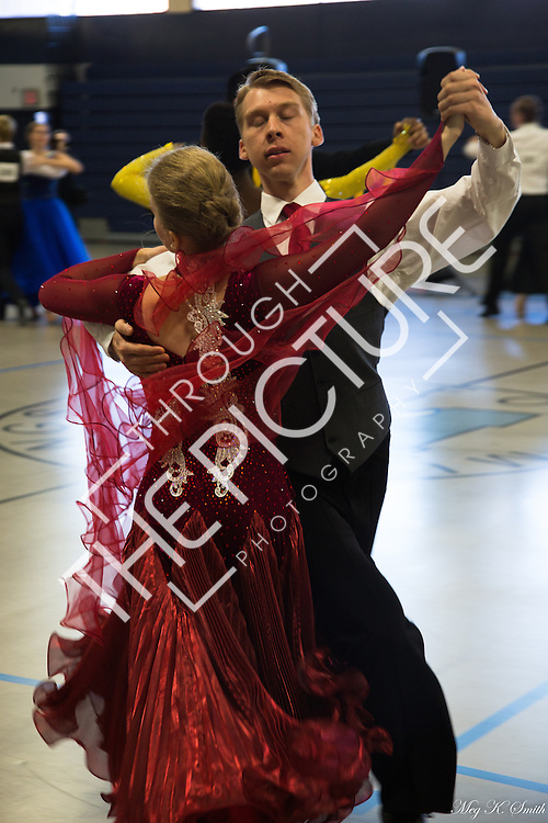 Photographs from the 15th Annual Tufts University Ballroom Dance Competition on November 11, 2016, held in the gym of Medford High School. Photos by Meg K. Smith.