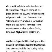 Greece - Idomeni Nights