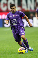 """David Pizarro Fiorentina<br /> Milano 10/11/2012 Stadio """"San Siro""""<br /> Football Calcio Serie A 2012/13<br /> Milan v Fiorentina<br /> Foto Insidefoto Paolo Nucci"""