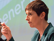 Liberal Democrat Caroline Pidgeon during the Greener London Hustings in advance of the London Mayoral election at One Wimpole Street, London.<br /> Picture by Focus Images/Focus Images Ltd 07814 482222<br /> 04/03/2016