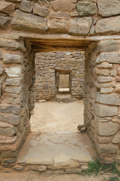 Doorways at Aztec Ruins National Monument