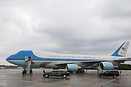 CAPE CANAVERAL, FL -  APRIL 15:  United States President Barack Obama prepares to reboard Air Force One at the shuttle landing facility at Kennedy Space Center April 15, 2010 in Cape Canaveral. Obama was holding a summit to discuss the future of the space program. (Photo by Matt Stroshane/Getty Images)