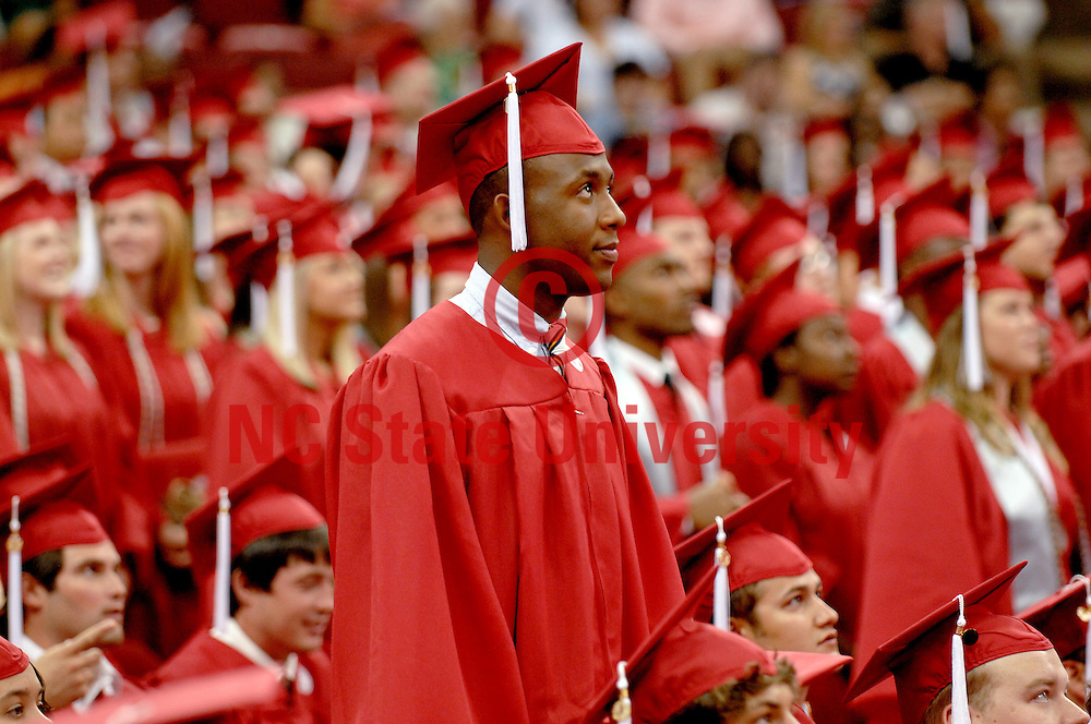 NCSU Graduation Ceremonies 2010. Photo by Becky Kirkland.