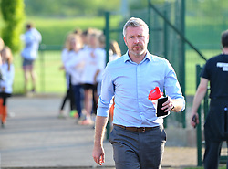 Willie Kirk manager of Bristol City Women makes his way to the pitch at Stoke Gifford Stadium - Mandatory by-line: Paul Knight/JMP - 15/05/2018 - FOOTBALL - Stoke Gifford Stadium - Bristol, England - Bristol City Women v Chelsea Ladies - FA Women's Super League 1