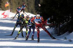 SVENDSEN Emil Hegle of Norway competes during Men 12.5 km Mass Start competition of the e.on IBU Biathlon World Cup on Sunday, March 9, 2014 in Pokljuka, Slovenia. Photo by Vid Ponikvar / Sportida
