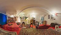 Jimi Hendrix's Bedroom - Handel and Hendrix, London.