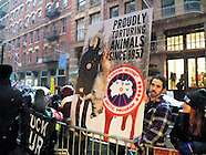 Anti-Fur March Action at Canada Goose in New York City-January 14th 2017
