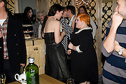 KATIE GRAND; BETH DITTO;, Kate Grand hosts a Love Tea and Treasure hunt at Flash. Royal Academy. Burlington Gardens. London. 10 december 2008 *** Local Caption *** -DO NOT ARCHIVE-© Copyright Photograph by Dafydd Jones. 248 Clapham Rd. London SW9 0PZ. Tel 0207 820 0771. www.dafjones.com.<br /> KATIE GRAND; BETH DITTO;, Kate Grand hosts a Love Tea and Treasure hunt at Flash. Royal Academy. Burlington Gardens. London. 10 december 2008