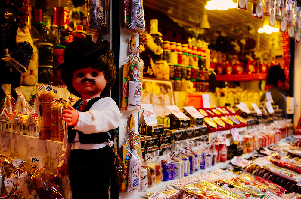 Hungarian doll in the Great Market Hall