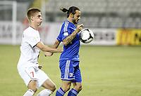 Fotball<br /> VM-kvalifisering<br /> 16.10.2012<br /> Kypros v Norge<br /> Foto: Savvides/Digitalsport<br /> NORWAY ONLY<br /> <br /> Markus Henriksen - Norge