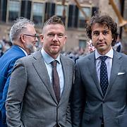 NLD/Den Haag/20190917 - Prinsjesdag 2019, Johnny de Mol en Jesse Klaver