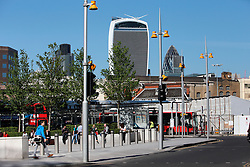 UK ENGLAND LONDON 21APR15 - View of the Walkie-Talkie building from London Bridge.<br /> <br />  <br /> <br /> jre/Photo by Jiri Rezac<br /> <br /> © Jiri Rezac 2015