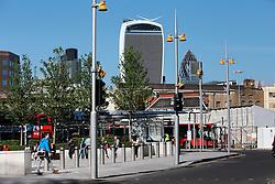UK ENGLAND LONDON 21APR15 - View of the Walkie-Talkie building from London Bridge.<br /> <br />  <br /> <br /> jre/Photo by Jiri Rezac<br /> <br /> &copy; Jiri Rezac 2015