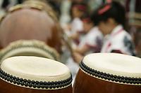 Japan Nikko Taiko drumming