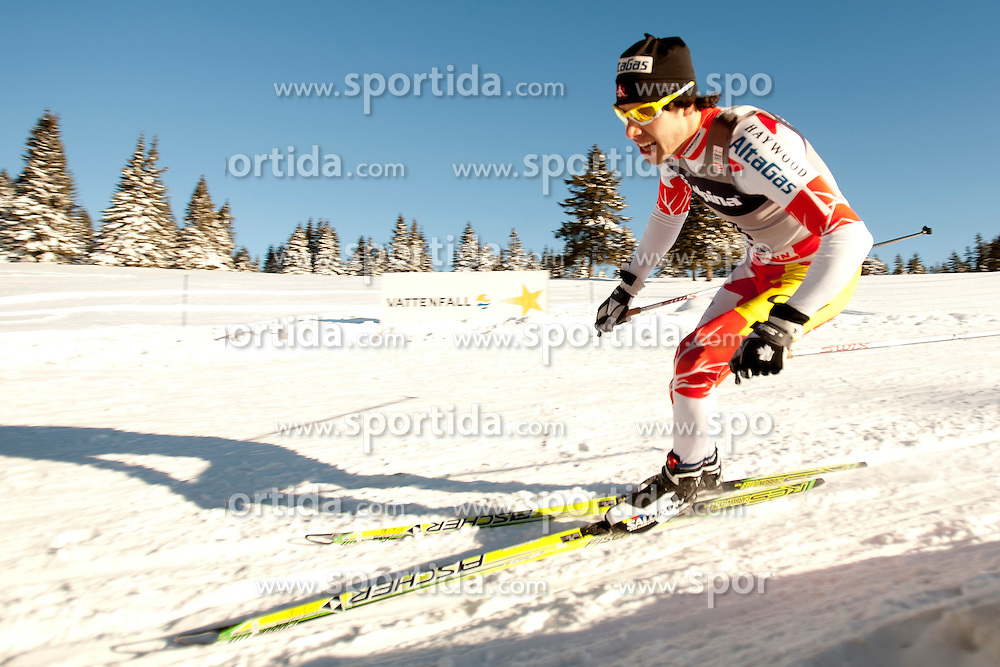 HARVEY Alex (CAN) during Man 1.2 km Free Sprint Qualification race at FIS Cross Country World Cup Rogla 2011, on December 18, 2011 at Rogla, Slovenia. (Photo By Vid Ponikvar / Sportida.com)