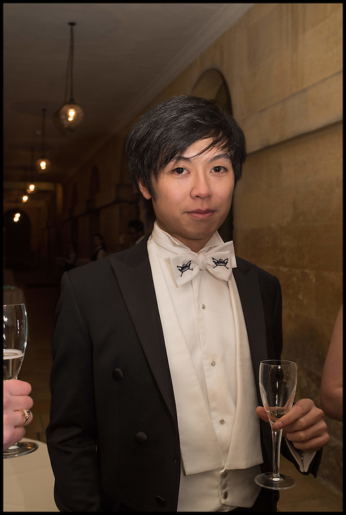 MICHAEL YU, Oxford University Polo club Ball, Blenheim Palace. Woodstock. 6 March 2015