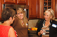 (from left) Jayne McDougall of McDougall Marketing, Cindy Gaboury of Audio Etc... and Jeanne Porter of WiBN during a Women in Business Networking After 5 event at Audio Etc... in Centerville, Thursday, August 30, 2012.