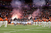 SAN ANTONIO, TX - SEPTEMBER 3, 2011: The Northeastern State University RiverHawks vs. the University of Texas at San Antonio Roadrunners in the Inaugural Game of the UTSA Football program at the Alamodome. (Photo by Steve Moakley)