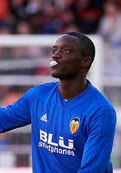 December 8, 2018 - Valencia, U.S. - VALENCIA, SPAIN - DECEMBER 08: Mouctar Diakhaby, defender of Valencia CF looks before to the La Liga game between Valencia CF and Sevilla FC on December 08, 2018, at Mestalla Stadium in Valencia, Spain. (Photo by Carlos Sanchez Martinez/Icon Sportswire) (Credit Image: © Carlos Sanchez Martinez/Icon SMI via ZUMA Press)