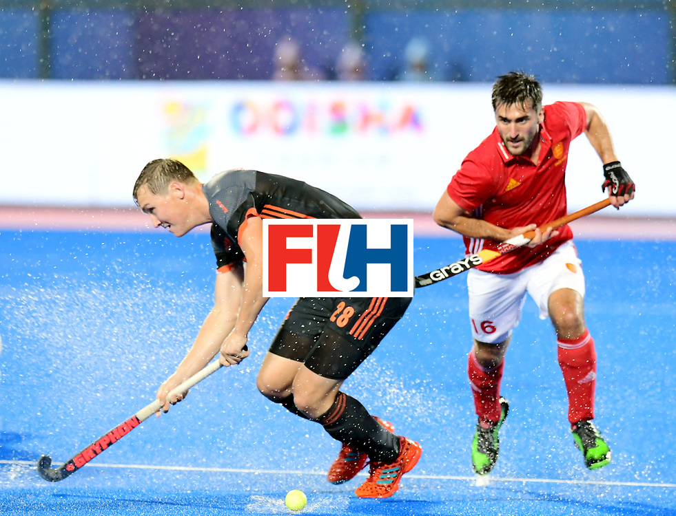 Odisha Men's Hockey World League Final Bhubaneswar 2017<br /> Match id:17<br /> England v Netherlands<br /> Foto: Floris Wortelboer (Ned)    <br /> COPYRIGHT WORLDSPORTPICS FRANK UIJLENBROEK