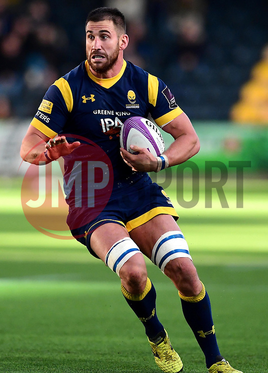Matt Cox of Worcester Warriors  - Mandatory by-line: Joe Meredith/JMP - 22/10/2016 - RUGBY - Sixways Stadium - Worcester, England - Worcester Warriors v Brive - European Challenge Cup