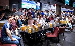 Fans enjoy watching England vs Russia at The Sports Bar and Grill - Mandatory by-line: Robbie Stephenson/JMP - 11/06/2016 - FOOTBALL - Ashton Gate - Bristol, United Kingdom  - England vs Russia - UEFA Euro 2016