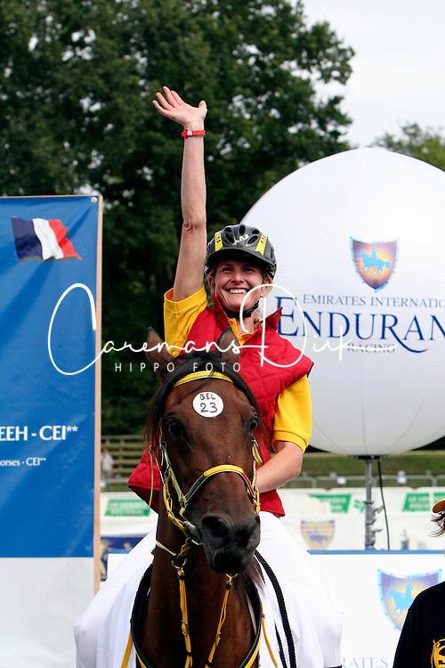 Van den Abeele Kristel-Chanice du Tilleul<br /> European Championship Compiegne 2005<br /> Photo &copy; Hippo Foto