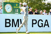 golf professional Joakim Lagergren  during the BMW PGA Championship at the Wentworth Club, Virginia Water, United Kingdom on 26 May 2016. Photo by Simon Davies.