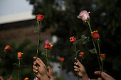 Flower Action in Jakarta to Condemn Terrorist Act