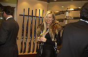 Amanda Wakeley. Charles Finch and Dr. Franco Beretta host launch of Beretta stor at 36 St. James St. London. 10  January 2006. ONE TIME USE ONLY - DO NOT ARCHIVE  © Copyright Photograph by Dafydd Jones 66 Stockwell Park Rd. London SW9 0DA Tel 020 7733 0108 www.dafjones.com