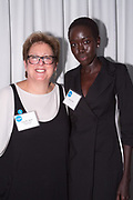 Caryl Stern, President and CEO Unicef USA, and Kuoth Wiel
