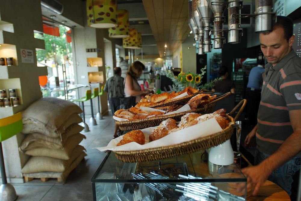 Loveat Cafe in Mikve Israel street in Gan Hahashmal District, Tel Aviv, Israel. Photo by Gili Yaari